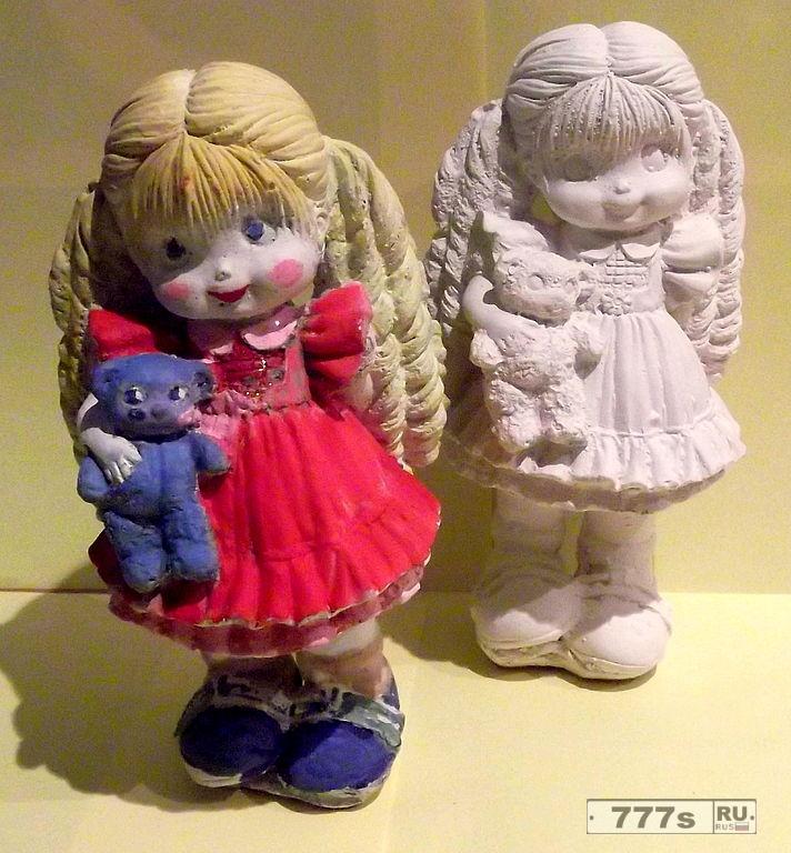 Фигурки кукол своими руками 384