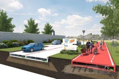В Нидерландах будут строить новые дороги из пластика!