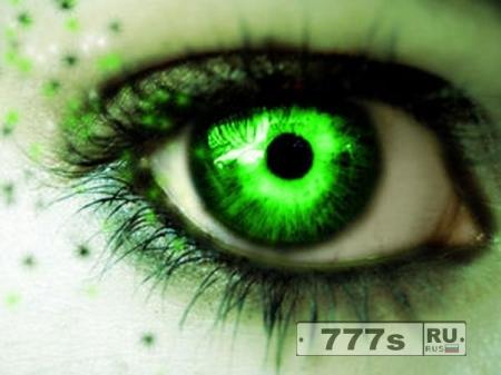 Зелёноглазые лучше видят в темноте!