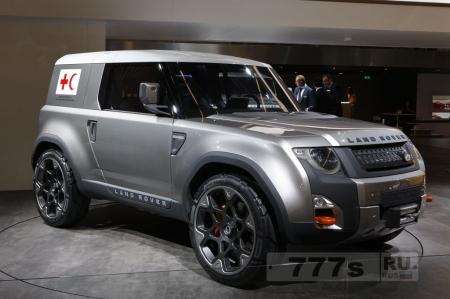 Я плакаль (с). Новый Land Rover Defender