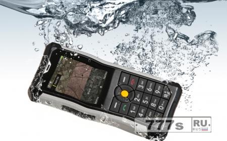 Обзор нового прочного телефона CAT B100 от