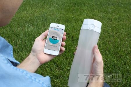Изобретения HidrateMi, устройство для сообщения о нужде в питье воды!