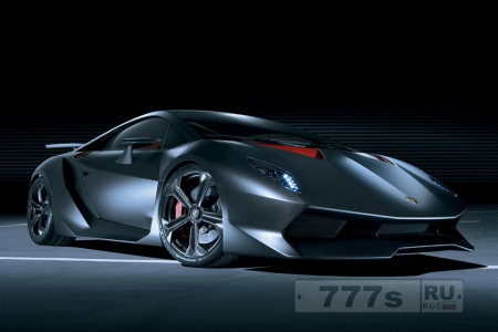 Lamborghini Sesto Elemento. Бык как искусство