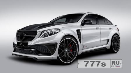 Тюнингованный Mercedes-Benz GLE Coupe. Индюк!