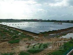 Аэропорт на солнечной енергии