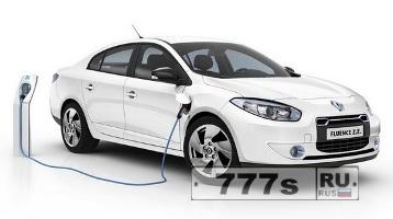 Электрическое авто Renault