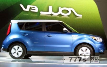 Kia представила новую модель Soul EV Wagon на 2016 год