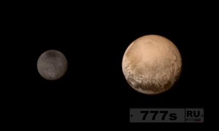 Цветное фото Плутона
