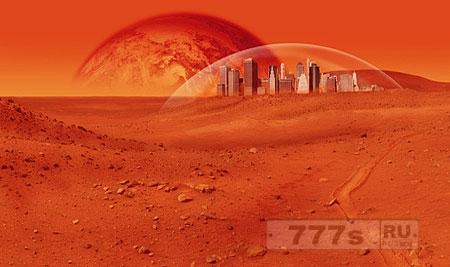 По мнению ученых, на жизнь на красной планете возможна