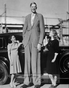 Самый высокий человек в мире.