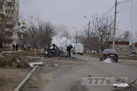 Восстановление города  Дебальцево