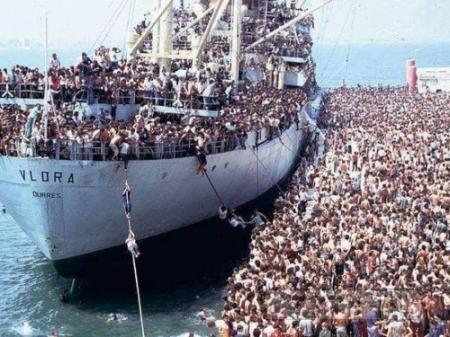Про беженцев в Европу
