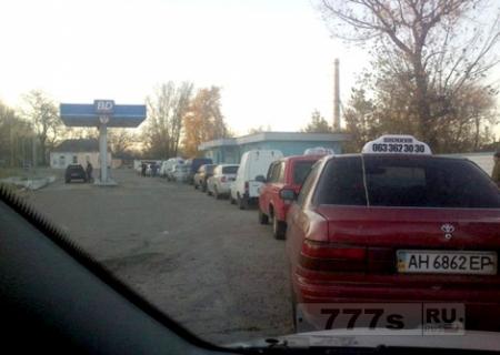 Обстановка с топливом в ДНР