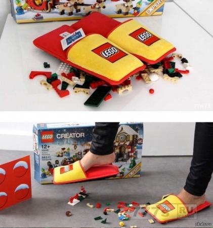 Полезный подарок от Лего для родителей.