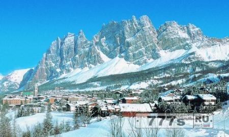 Кортина д'Ампеццо – рай для поклонников лыжного спорта