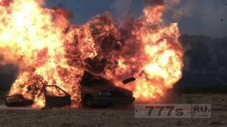 Взрыв украинских автомобилей в Турции