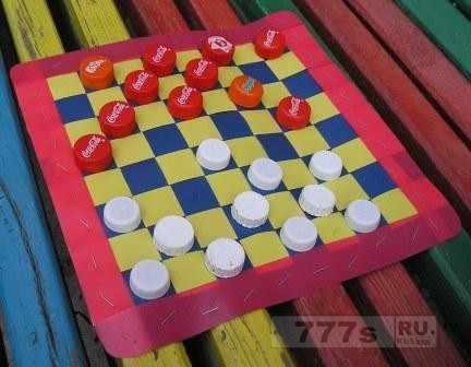 Делаем шашки.