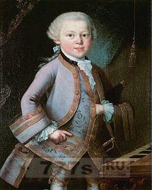 День рождения Моцарта