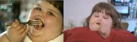 Самый толстый ребенок в мире.