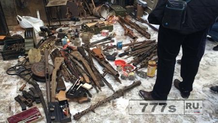 Арсенал оружия ВОВ в Калининграде