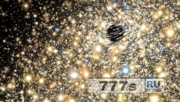 Самая крупная черная дыра Вселенной