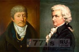 Моцарт и Сальери вместе написали оперу