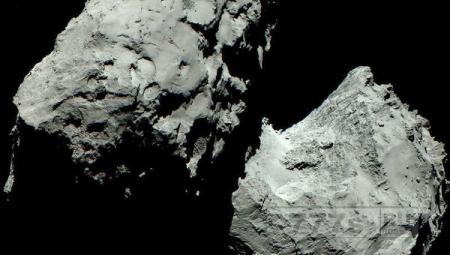 На комете 67P/Чурюмова-Герасименко нет пещер