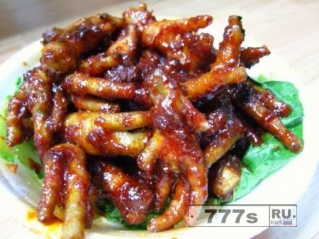 Кулинария: богатые коллагеном лапки по-корейски или такпаль