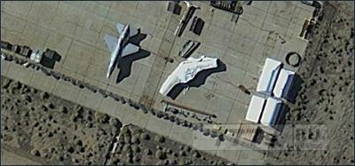 Google Earth слил секретную базу США