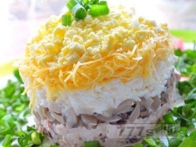 Кулинария: вкусный и поезный белковый салат