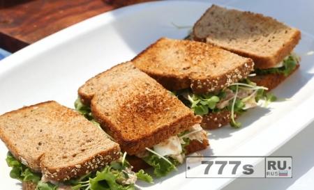 Кулинария: рецепты диетических бутербродов.