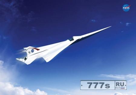НАСА начинает изобретать сверхзвуковые лайнеры