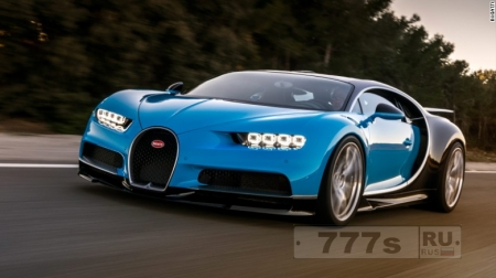 Bugatti Chiron: cамый быстрый в мире суперкар