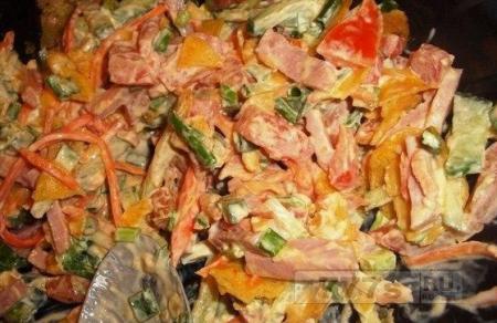 Кулинария: калорийный салат