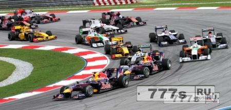 В гонке Гран-при Австралии произошла авария. Жертв нет.