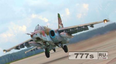 Заход на посадку Су-25 в Приморье привел к крушению и пожару