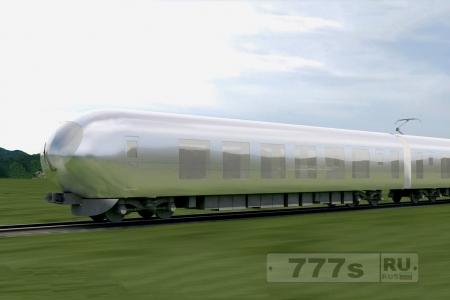 В Японии поезд будущего будет вписываться в ландшафт