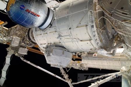 НАСА прикрепит «надувной космический отель» к МКС