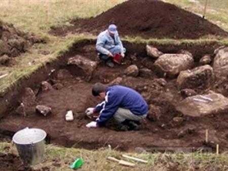 Мужчина случайно обнаружил римскую виллу в саду