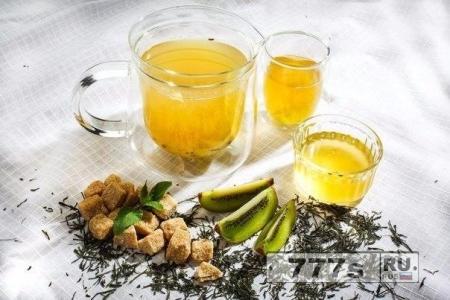 Кулинария: зеленый чай с киви