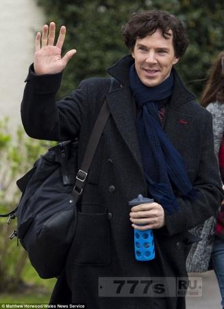 Бенедикт Камбербэтч опять будет играть Шерлока Холмса в следующих 4 сериях