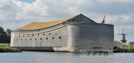 Копия Ноева ковчега отправиться в турне по Атлантике