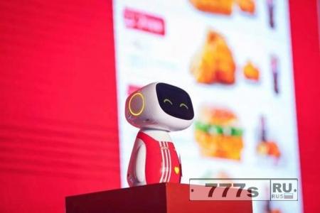 KFC открывает в Шанхае футуристический ресторан с роботами