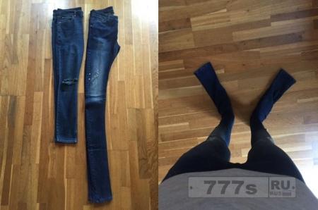 ASOS продают людям джинсы, сделанные для великанов