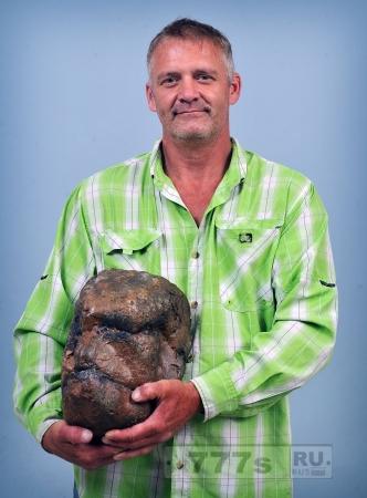 Кое-кто нашел окаменелый череп снежного человека
