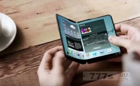 Samsung планирует два телефона с откидными экранами