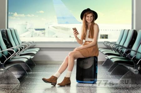 Изобретатель разработал Trunki чемодан для взрослых