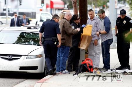Арестован человек с оружим и взрывчаткой, который направлялся в Лос-Анджелес