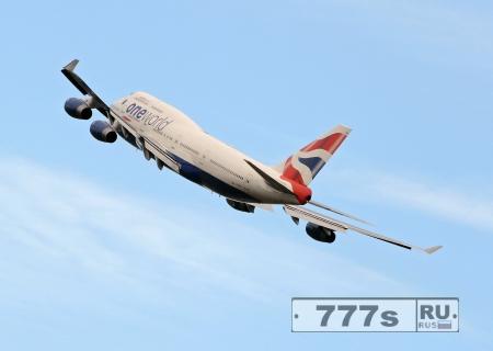 Самолет Британских авиалиний пролетев 6000 миль  разворачивается и «летит в никуда»