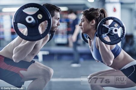 Подъем легкого веса, как и тяжелого одиноково эффективно, главное до изнеможения